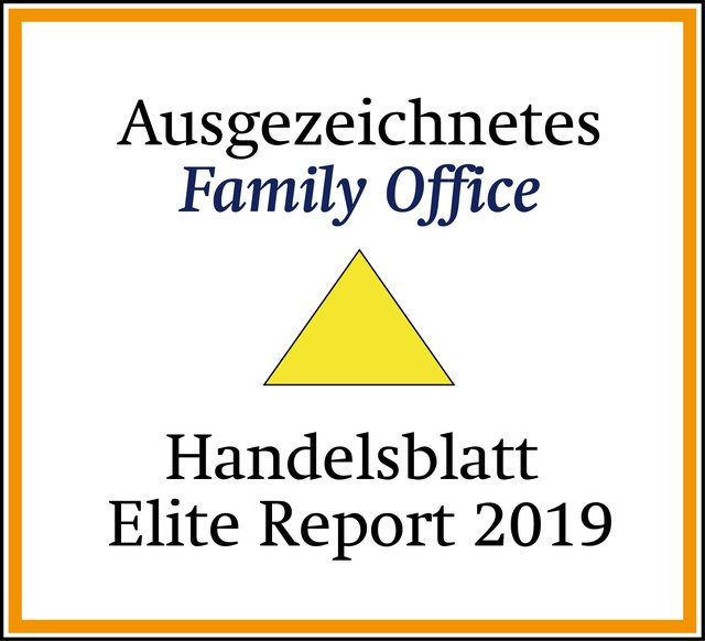 Ausgezeichnete Family-Office Handelsblatt Elite Report 2019